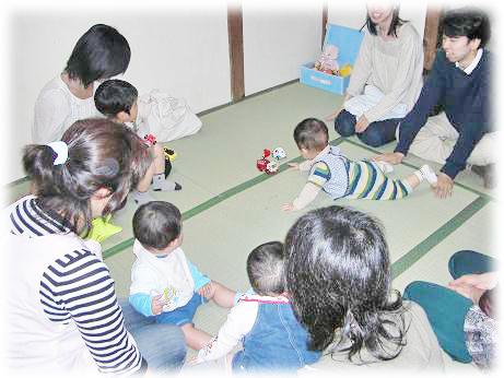 親子スキンタッチ教室